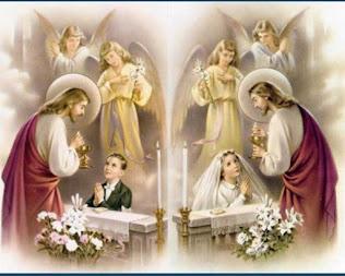 1ª Eucaristia e Batismos