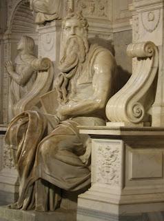 Микеланджело Статуя Моисея