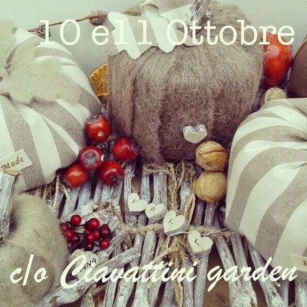 10 e 11 OTTOBRE c/o CIAVATTINI GARDEN- Ancona