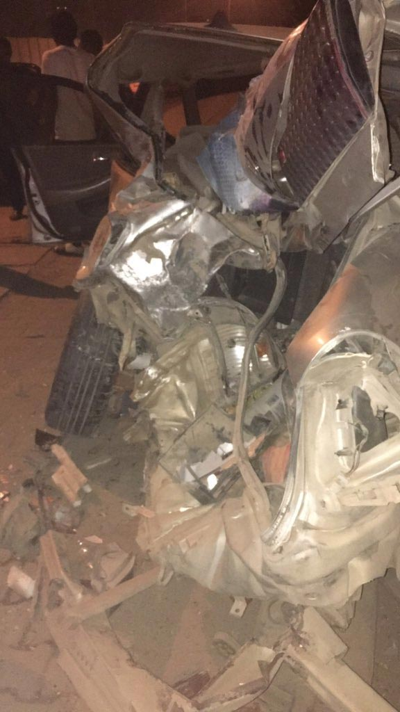 Sad: New Year Celebrations Turn Fatal As Vehicles Performing Road Stunts Clash (Graphic Photos)