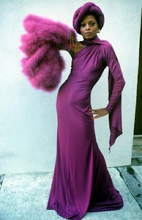 Diane Ross in radiant orchid