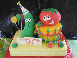 Funny Fondant Birthday Cakes For Kids
