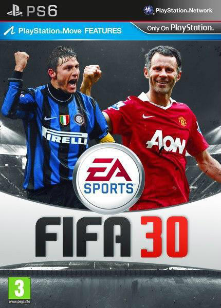 FIFA30 mit Giggs und Zanetti auf der PS6.