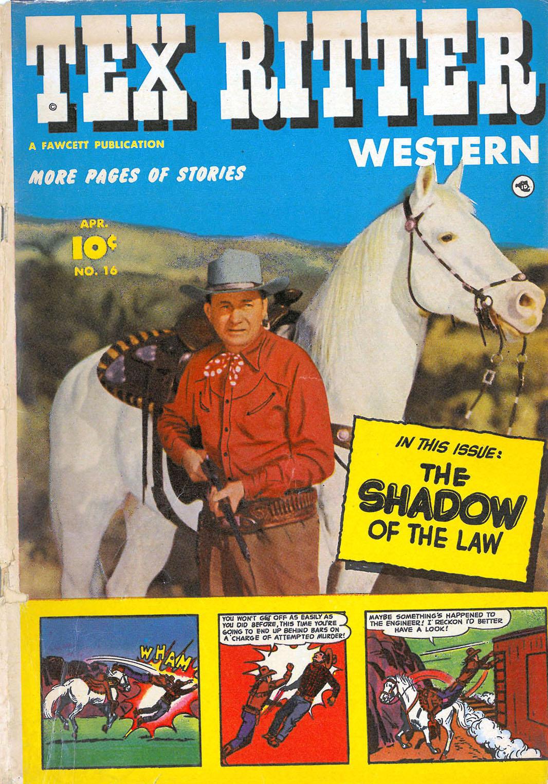 Tex Ritter Comic