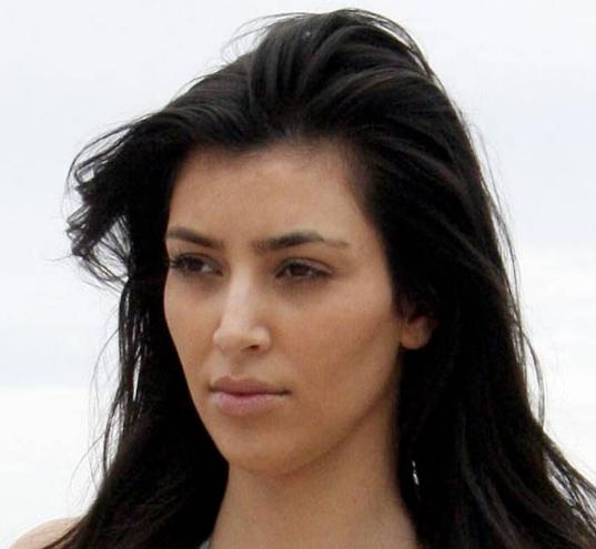 Hollyood Actress Sexy Images: Kim Kardashian No Makeup