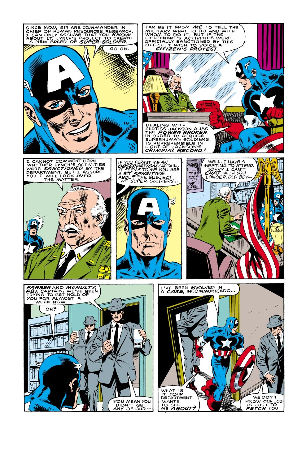 Captain America (1968) Issue #332 #261 - English 6