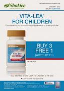 Promo Vita-Lea for Children
