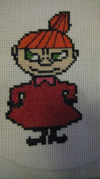 Moomin Knitting Pattern : Very Cross Stitch