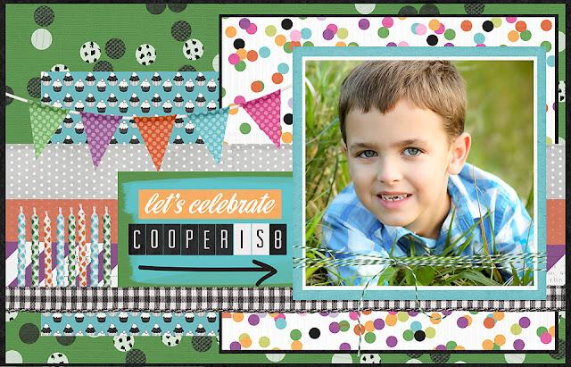 shannon hager, digital birthday card, cooper turns 8