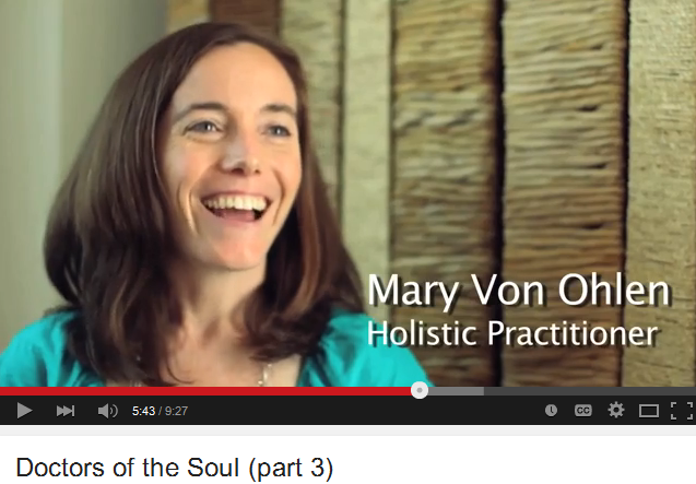 mary von ohlen, doctors of the soul, healing, wellness