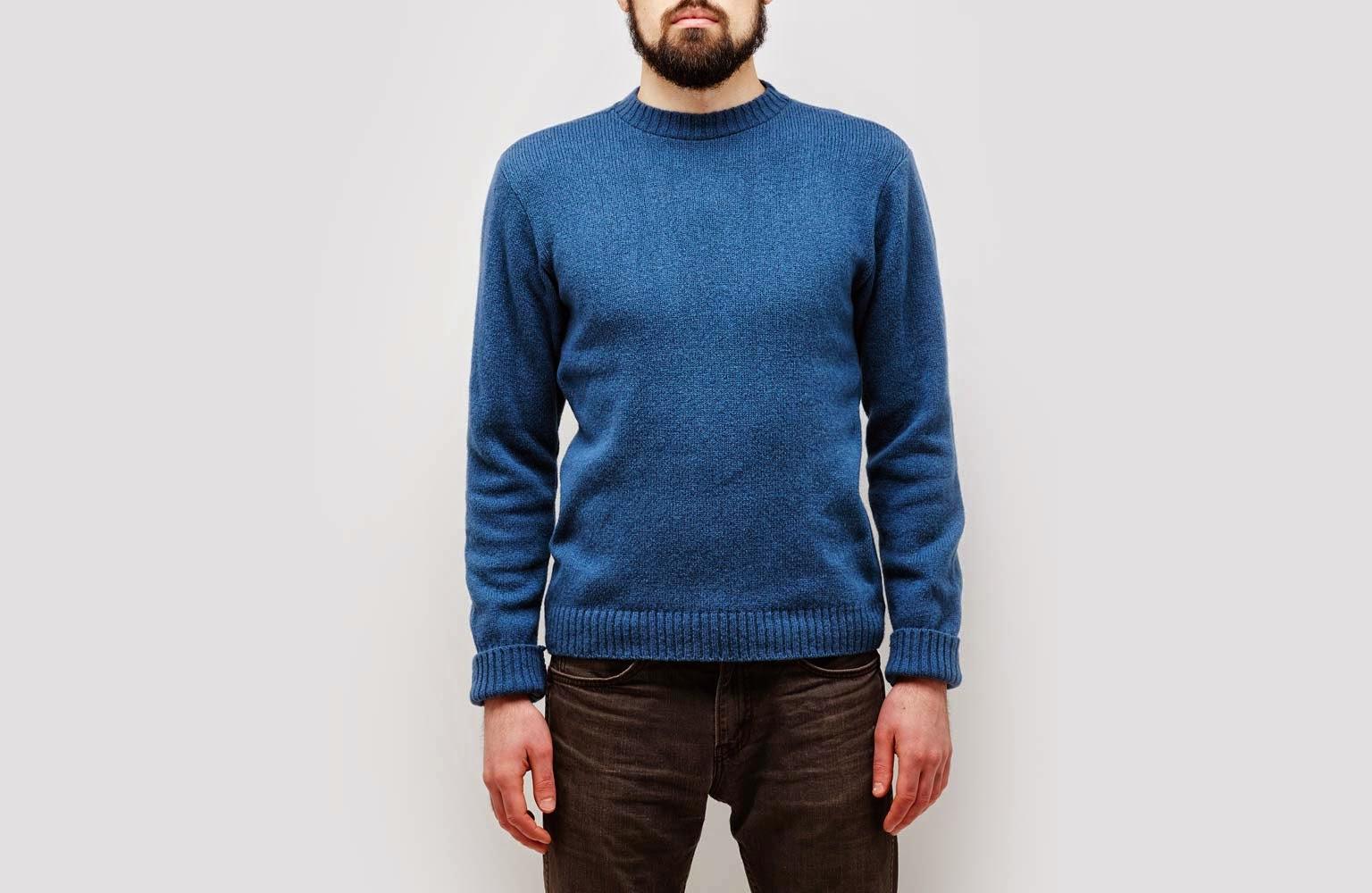 Ohio Knitting Mills Shetland Wool Crewneck Pullover