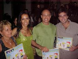 O Brasileirinho na festa da Estudantina. Homenagem da Policia Federal à escritora Gloria Perez