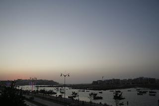 Vista de Rabat desde la Torre de Hassan. Julio 2011.