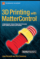 Cover of 3D Printing With MatterControl book
