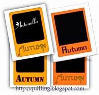 Free Autumn Polaroid Cut File