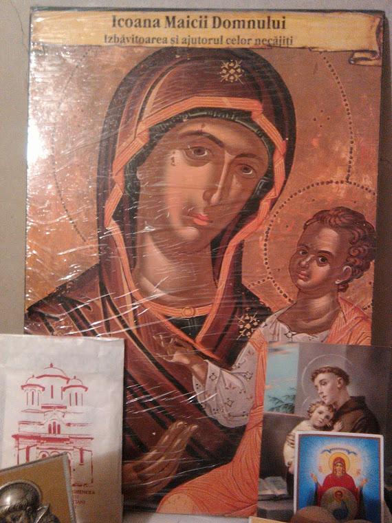 Olivia Maria Marcov Icône de la Mère de Dieu Salvatrice et Secours des Affligés  Bucarest Romania