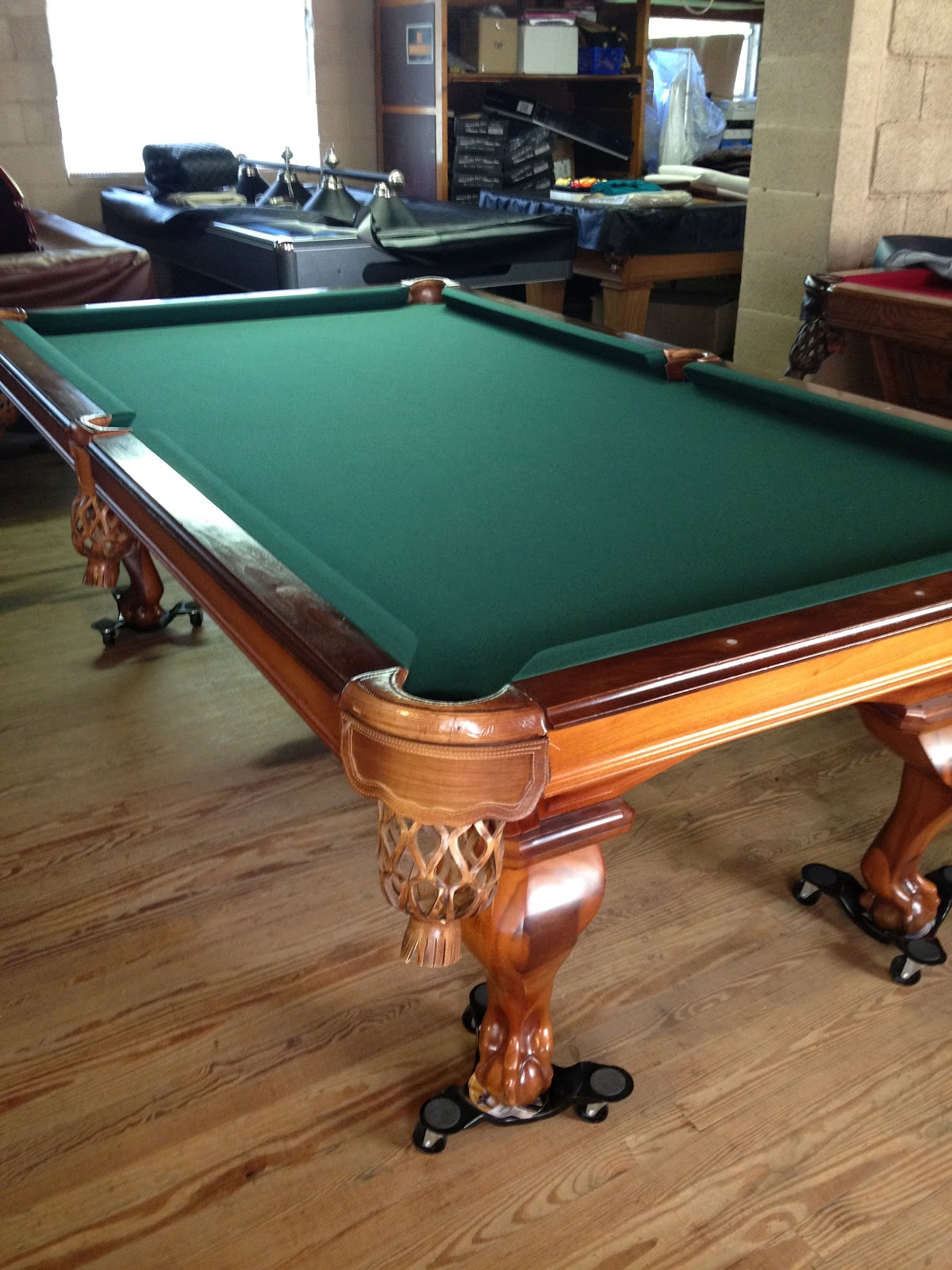 how to move a pool table - table designs