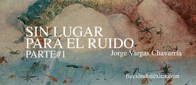 fragmento de la pintura del pintor El Bosco el carro de heno para el cuento sin lugar para el ruido de Jorge Vargas Chavarría