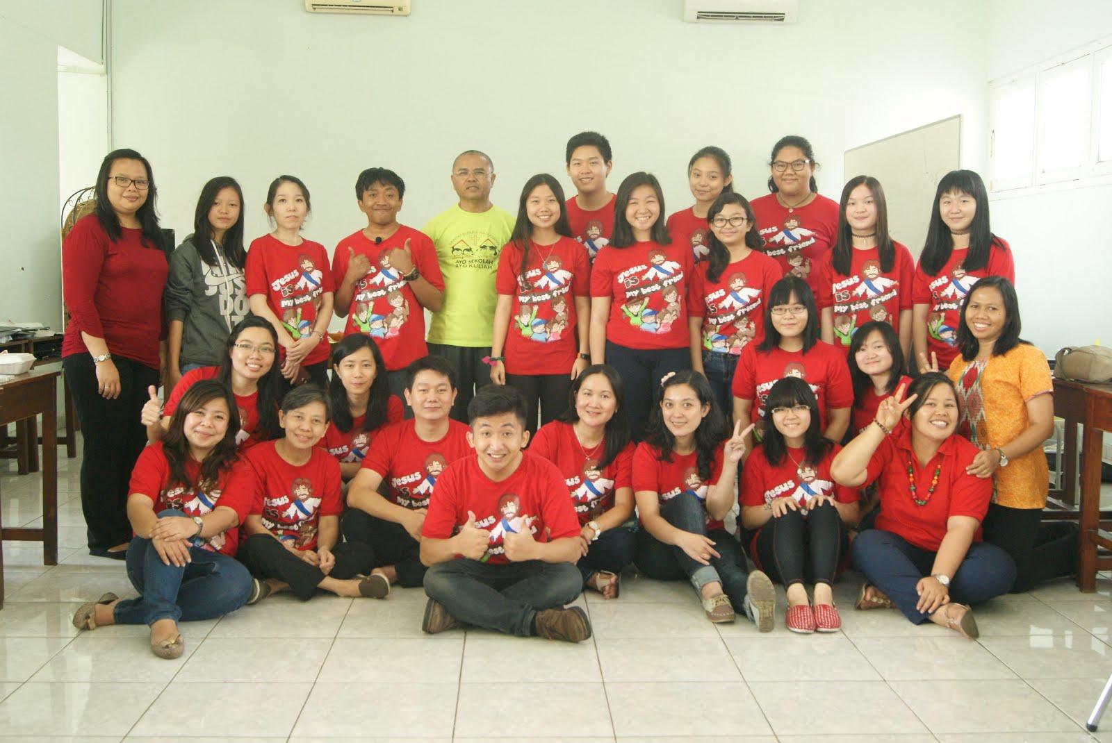 Bersama Pendamping BIA St.Anna paroki Bunda Hati Kudus Jakarta Pusat (10-11 Oktober 2015)
