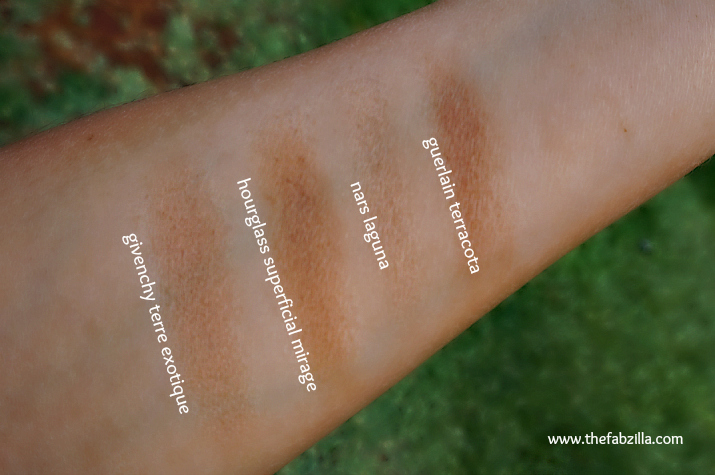 givenchy terre exotique healthy glow powder 2 douce croisiere, review, swatch, bronzing powder, summer tan how-to