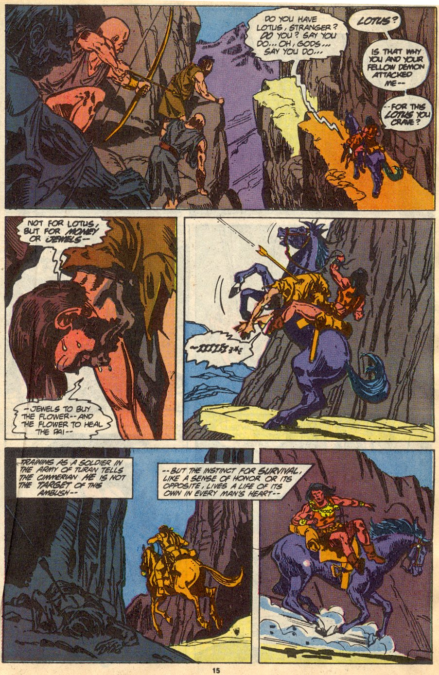 Conan the Barbarian (1970) Issue #230 #242 - English 12