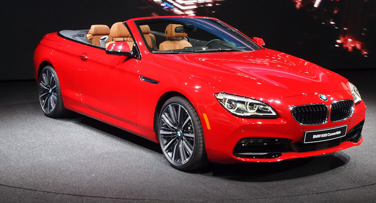Bmw S Facelifted 6 Series And M6 Family Comprising The