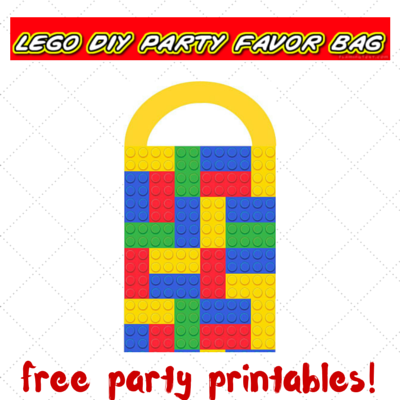 photograph regarding Lego Party Printable called Lego get together printables - portion 4 - Do-it-yourself desire luggage Preserving it Accurate