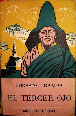 """Curiosa primera edición del """"Tercer Ojo"""" de Lobsang Rampa"""