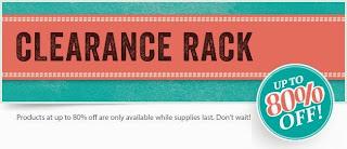 CLEARANCE RACK!!!!!