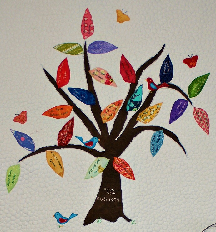 New QUILT pattern: Family Tree!