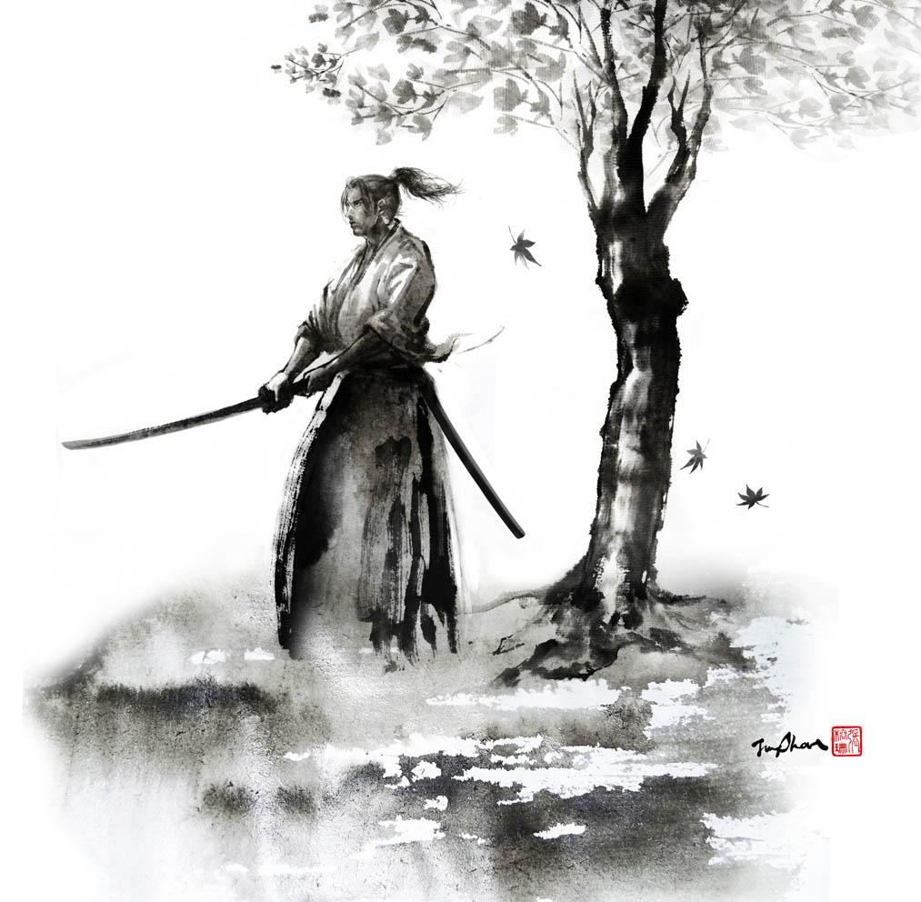Ink Illustration: JUNGSHAN INK- Illustration