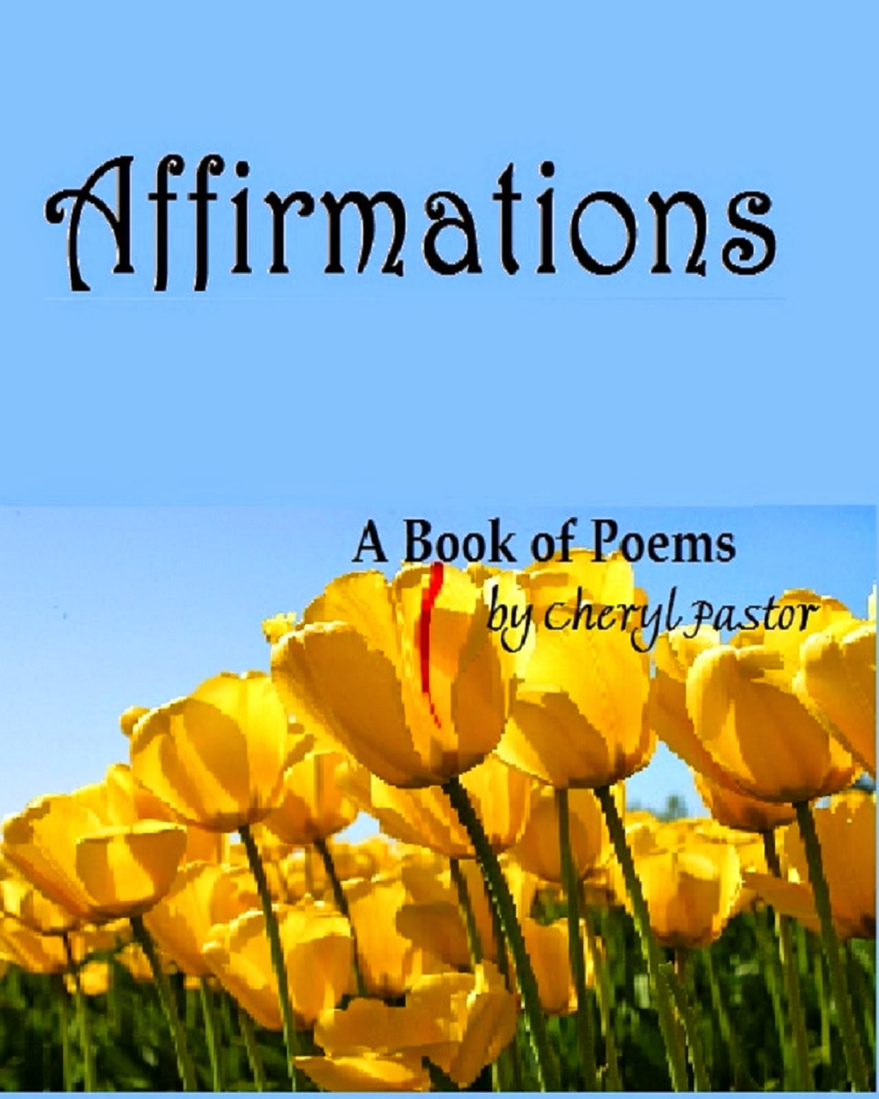 Relaunch of my book of Poems!