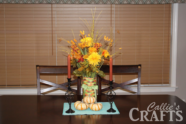 Fall Themed Floral Centerpiece