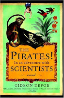 Hardback book cover of The Pirates! in an Adventure with Scientists by Gideon Defoe