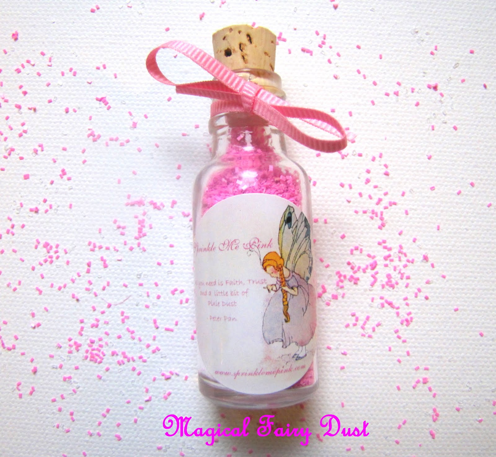 Sprinkle Me Pink Blog - DIY Creations: Keepsake Fairy Dust and Pixie ...