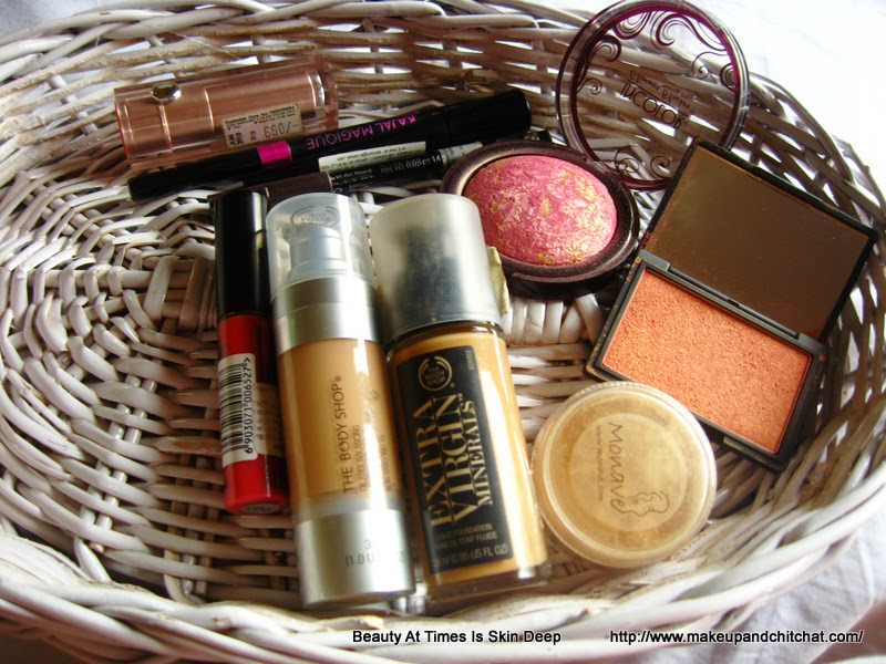 Makeup favorites of March