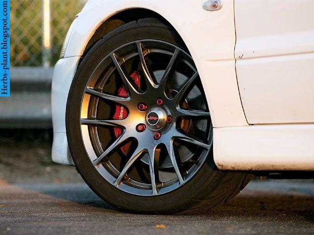 Mitsubishi evolution car 2013 tyres/wheels - صور اطارات سيارة ميتسوبيشى ريفلوشن 2013