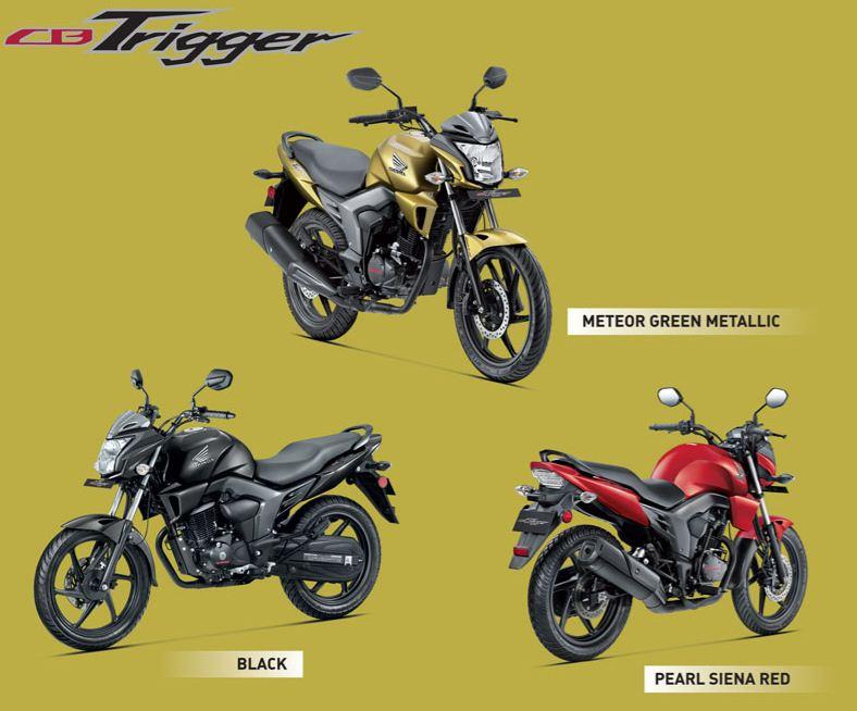 honda cb trigger 150cc bike revealed in india bikes in india