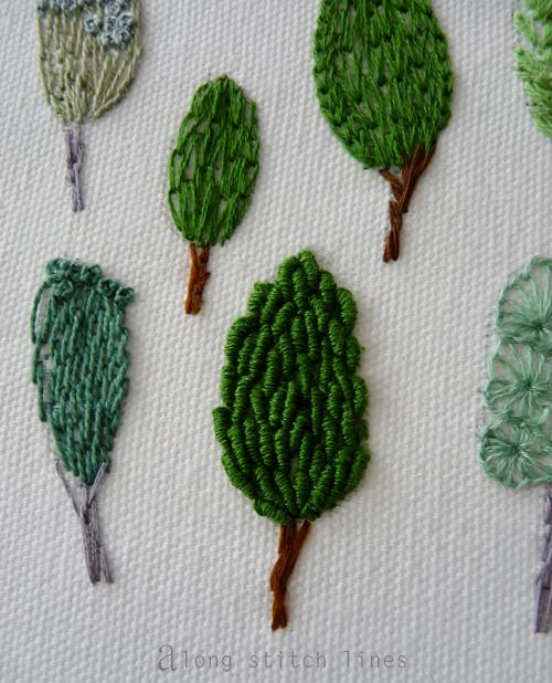 Along Stitch Lines