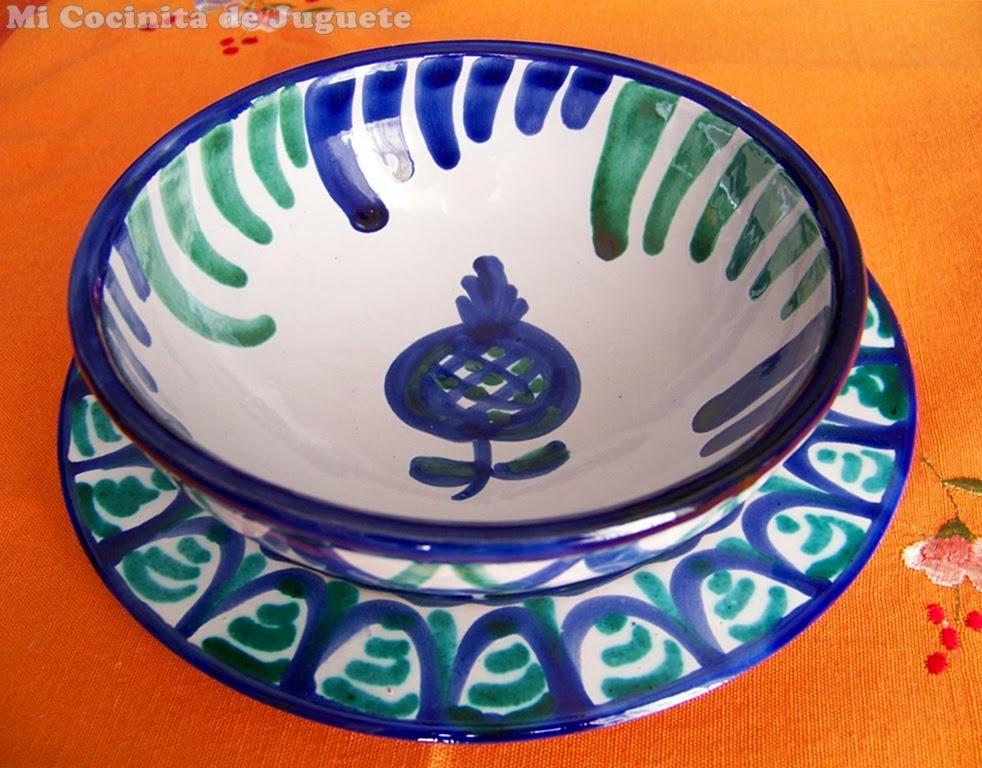 cerámica granadina de Fajalauza