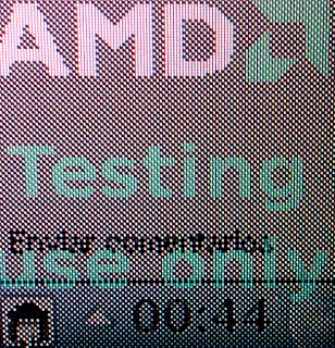 amd testing use only