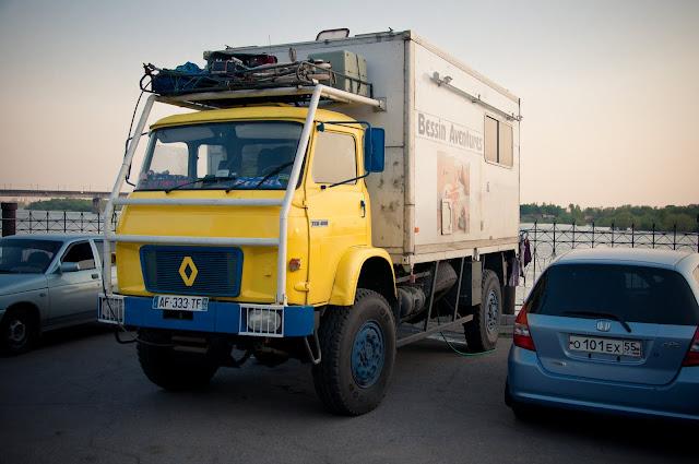 Чудный грузовичок свободных....