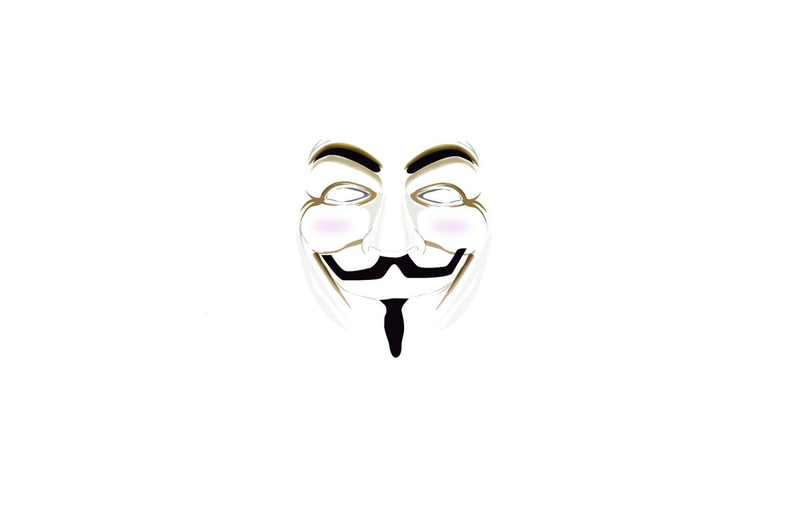Anonymous Background Putih Wallpaper Free Wallpapers Agiatmoc