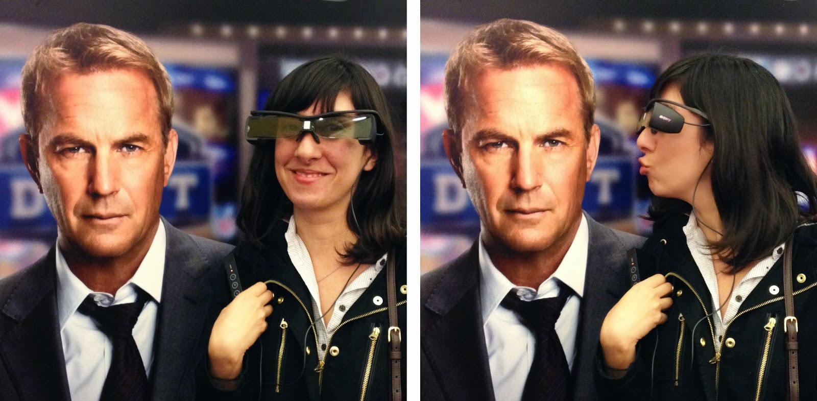 My Date with Captain America (and Kevin Costner) in Closed Captioning Glasses