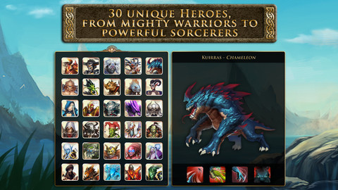 Heroes of Order & Chaos - Multiplayer Online Game v1.0.1 [iOS Game