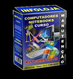 Curso em DVD - Montagem, Instalação, Formatação e Manutenção de Computadores e Notebooks