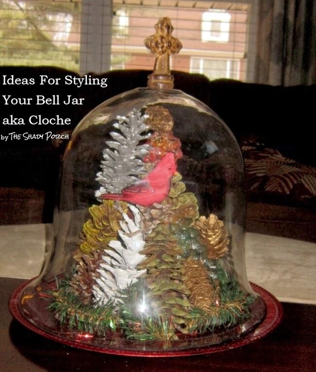 Ways To Style Your Bell Jar aka Cloche #belljar #cloche #glassdome #DIY