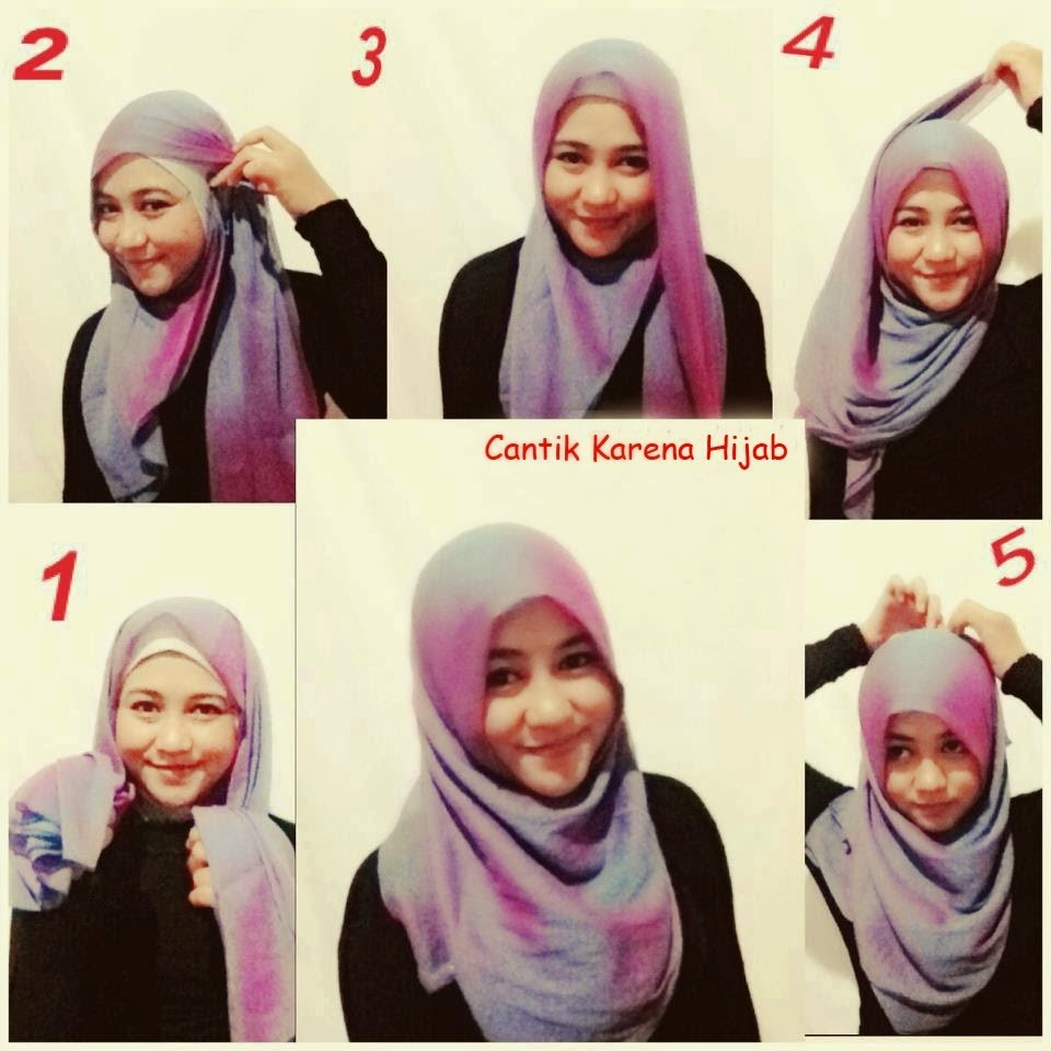 Cara Memakai Jilbab Segi Empat Terbaru  detikLife