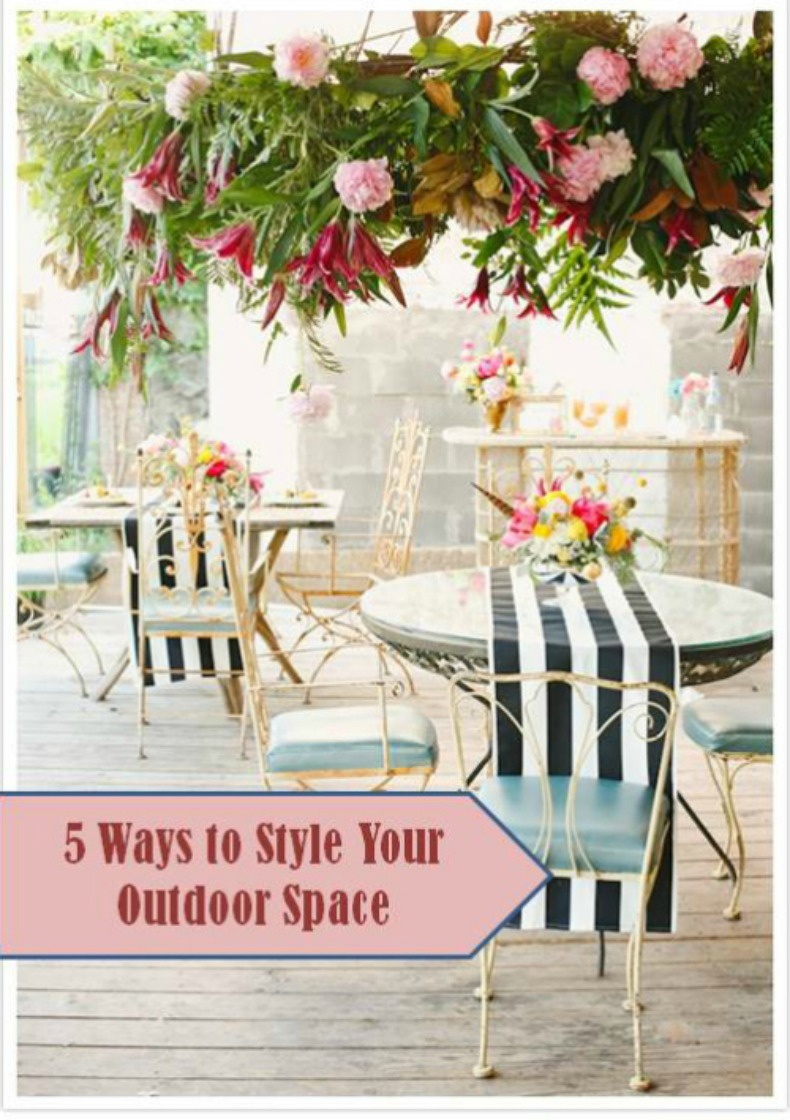 Designer Tips: Style your outdoor coastal space Designer Tips
