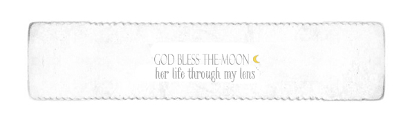 God bless the moon...